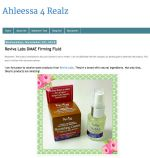Ahleesa calls Reviva products &quotamazing&quot