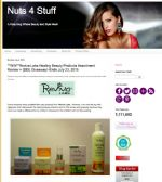 Nuts 4 Stuff Raves About Reviva's Healing Products