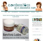 "Confessions of a Sarcastic Mom's Destany &quotlove love loves""Reviva's DMAE Firming Fluid and Nourishing Cream"