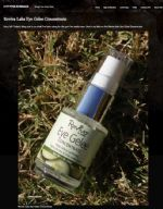 Kitty from Polish N Bags uses Reviva's Eye Gelee Concentrate to reduce eye puffiness