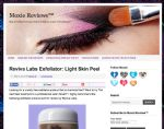 Moxie Reviews Reviva Labs Exfoliation: Light Skin Peel (#107)