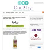 Rita at One 2 Try uses Reviva products to combat aging and acne